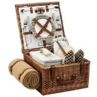 Wholesale Picnic at Ascot - London Cheshire Basket for Two w BlanketItem #: 344503 from china suppliers