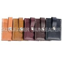 China leather accessaries 106308-Leather money clip card wallet on sale