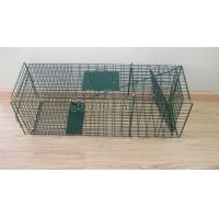 Wholesale Collapsible One-door Live Animal Cage Trap For Raccon,Stray Cat,Groundhog, Opossum,Armadillos SD649 from china suppliers