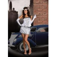 China Sexy Club Wear Sexy Lingerie Sequin Flapper Girl Clubwear on sale