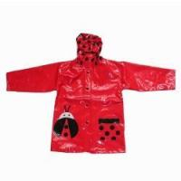 Buy cheap Child Raincoat PU Raincoat with Frog Design for kids from Wholesalers