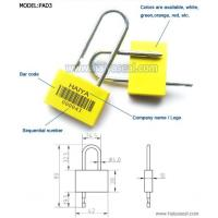 Wholesale Padlock seals from china suppliers