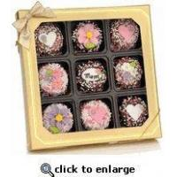 Buy cheap Mother's Day Gifts - Chocolate Dipped Oreos Box of 9 from wholesalers