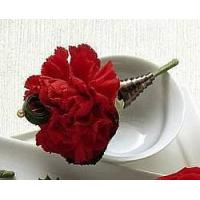View our full inventory The FTD Red Carnation Boutonniere