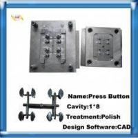 Wholesale Polypropylene, ABS NAK8 Cavity Polish Plastic Press Button Injection Mould Tooling from china suppliers