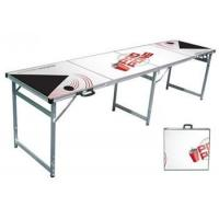 China Classic White Premium Beer Pong Table on sale