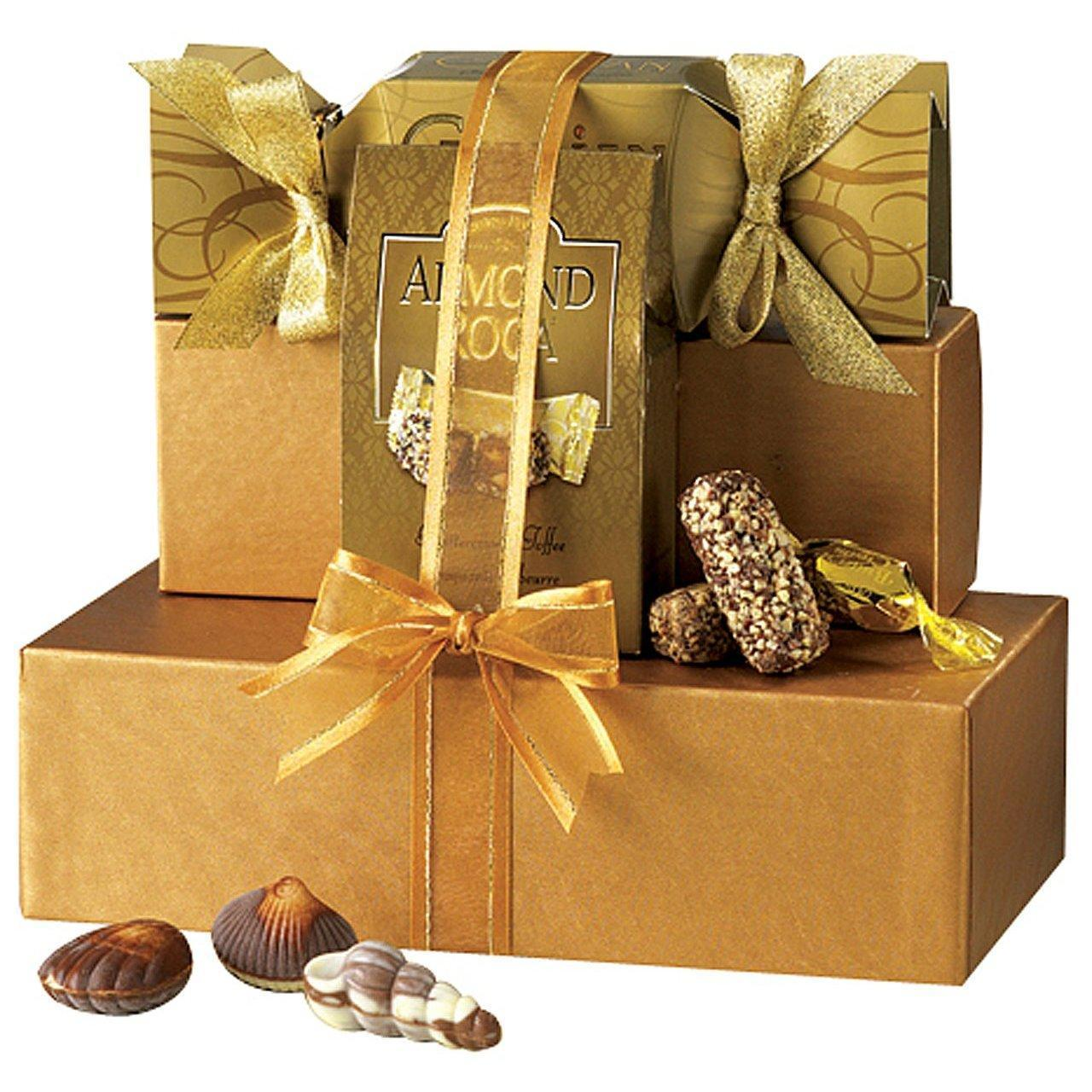 Wholesale Broadway Basketeers Chocolate Heaven Gourmet Chocolate Gift Tower from china suppliers