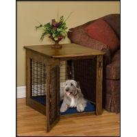 Wholesale Pinnacle Woodcraft Chew Proof Cherry Wood Dog Crate End Table from china suppliers