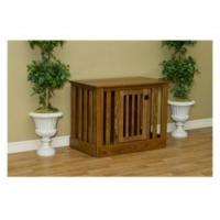 Wholesale Pinnacle Woodcraft Cherry Wood Dog Crate Entertainment Center from china suppliers