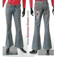 Wholesale True Religion Bobby Godiva Jeans, Embroidered from china suppliers