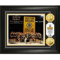 Wholesale Boston Bruins 2011 Stanley Cup Banner Raising 24KT Gold Coin Photo Mint from china suppliers