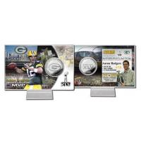 Wholesale Aaron Rodgers Super Bowl 45 MVP Silver Coin Card from china suppliers