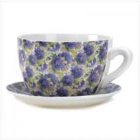 Wholesale Lavender Teacup Planter from china suppliers