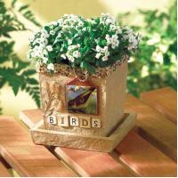Wholesale BIRDS SCRAPBOOK CACHE POT from china suppliers
