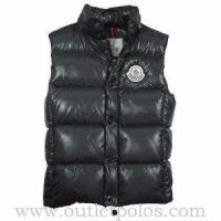 Wholesale Moncler Women's Quilted Body Warmer Vest Black from china suppliers