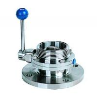 Wholesale Single flange single threaded butterfly valve from china suppliers