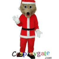 Wholesale Christmas Bear Plush Adult Mascot Costume from china suppliers