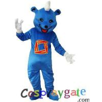 Wholesale Blue Bear Plush Adult Mascot Costume from china suppliers