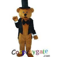 Wholesale Etiquette Bear Plush Adult Mascot Costume B from china suppliers