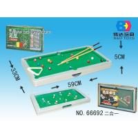 Buy cheap 2-in-1 Billiards/Snooker/Pool/football from Wholesalers