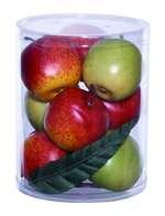 China Gift Box Well Shaped Large in Lush Red and Green Apples on sale