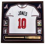 Jersey Baseball Bat Framing