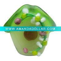 Buy cheap house shaped lampwork glass bead RY002571 from Wholesalers