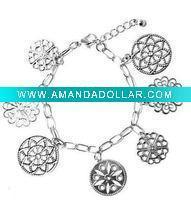 Wholesale silver fashion bracelet from china suppliers