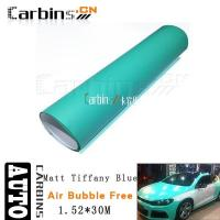 Wholesale Matt car wrap Matt Tiffany Blue Vinyl Car Wrap from china suppliers