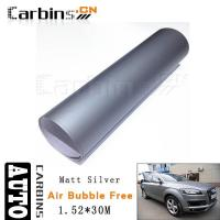 Wholesale Matt car wrap Matt Silver Vinyl Car Wrap from china suppliers