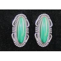 Buy cheap Indian Jewelry Malachite Earrings from Wholesalers