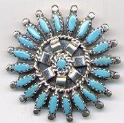 Turquoise Jewelry Turquoise Brooch