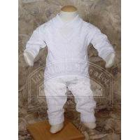 Wholesale Boys 100% Cotton Knit Two Piece Christening Outfit - CKINT2 from china suppliers
