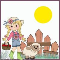 Buy cheap Clip Art(5) Fence Girl from Wholesalers