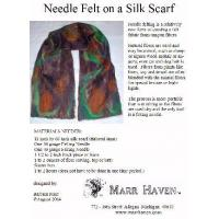 Wholesale Needle Felt Instructions for Silk Scarf, Hat or Purse from china suppliers
