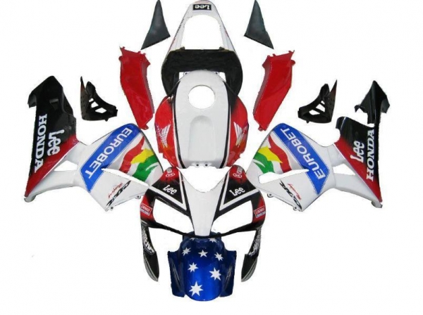 Quality Honda 03-04 CBR600RR CBR 600 RR Complete Fairing Set Eurobet Lee for sale