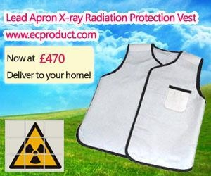 Lead Apron X Ray Radiation Protection Vest Item Number