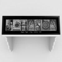 Wholesale Architectural Elements III Black and White Family Name Prints from china suppliers