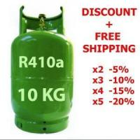 Wholesale 10 Kg R410a REFRIGERANT GAS REFILLABLE CYLINDER from china suppliers