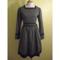 Wholesale [USED] Heart E Grey and Black Simpleton Dress from china suppliers