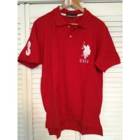 US Polo Assn. Large Pony Polo Shirt - Red