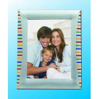 Wholesale Hot sale colorful silver plated metal photo frames(328ASS37C) from china suppliers