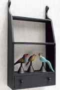 China FINE ANTIQUE FURNITURE REPRODUCTIONS PRIMITIVE WALL SHELF - DISCONTINUED on sale