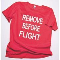 Remove Before Flight Ladies Scoop Neck T-Shirt