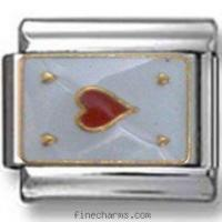 Buy cheap Ace of Hearts Italian Charm from Wholesalers