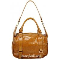 Buy cheap Handbag Material :Caramel Distressed Leather from Wholesalers