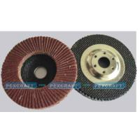 Buy cheap FLAP DISCS Flap Disc with Metallic Flange Backing from wholesalers