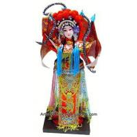 Collectible Chinese Doll - Chinese Opera Doll / Mu Guiying #191