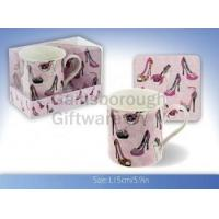Designer Shoes Mug and Coaster