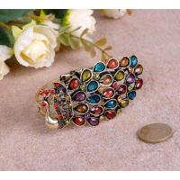 Buy cheap vintage peacock w/rhinestone bangle from Wholesalers